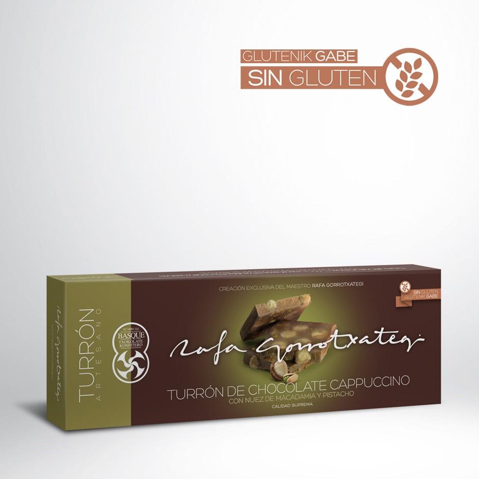 TURRÓN DE CHOCOLATE CAPPUCCINO