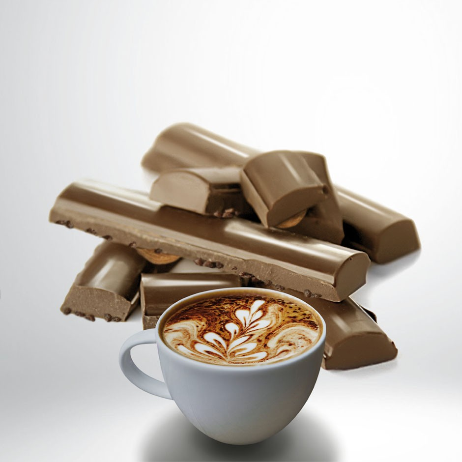 CHOCOLATE CON LECHE 32% CON CAPPUCCINO Y NBS DE TOFFEE