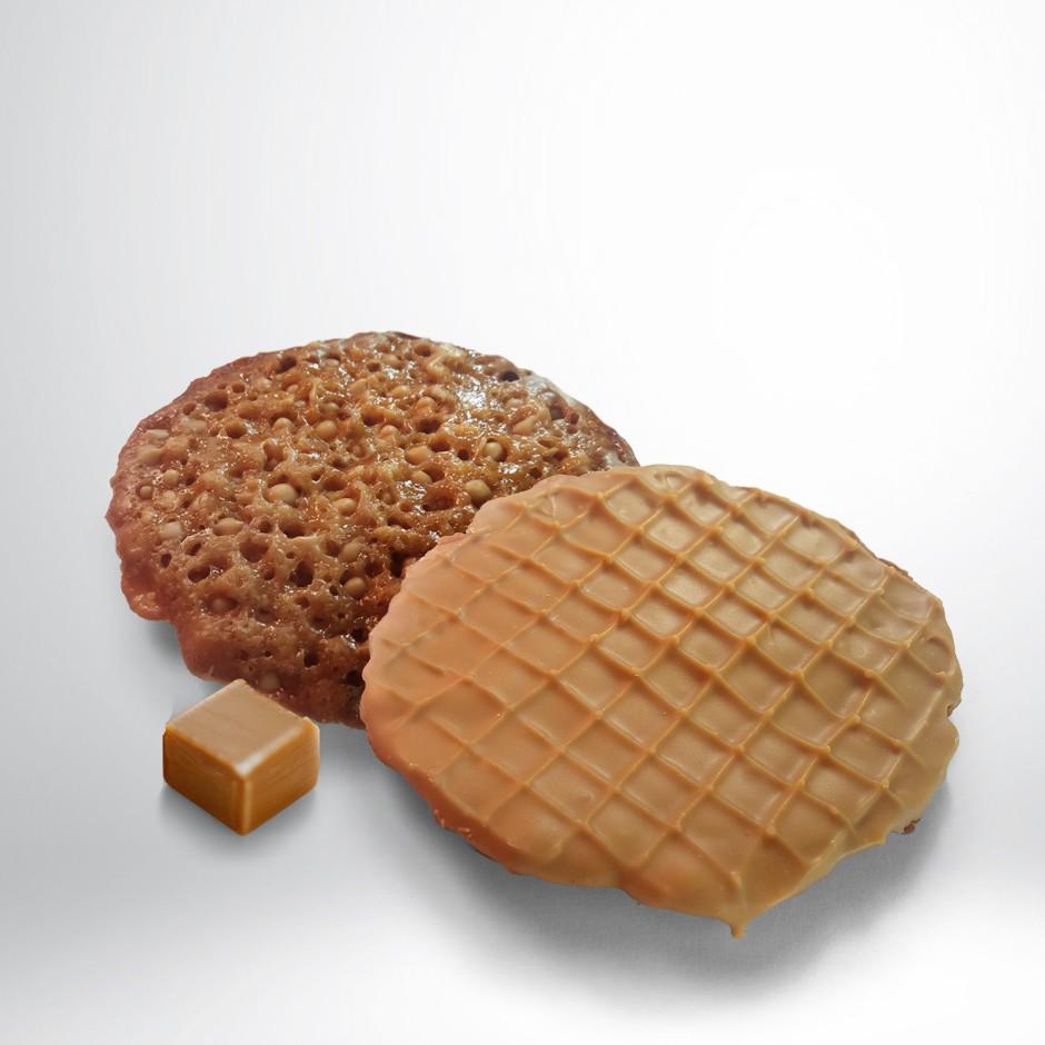 TEJAS BAÑADAS EN CHOCOLATE AL CARAMELO